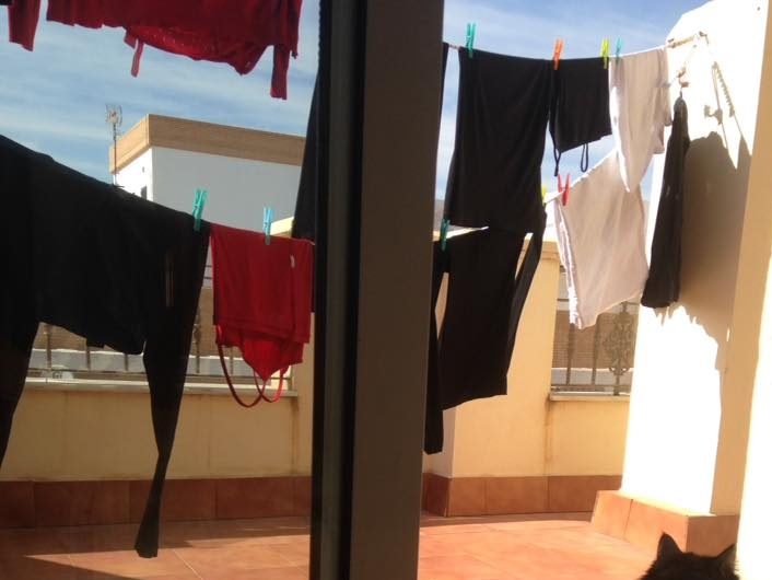 Southern Spain moves slow. 4.5 hours for a load of laundry.